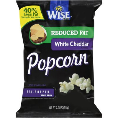 White Cheddar Flavored Popcorn