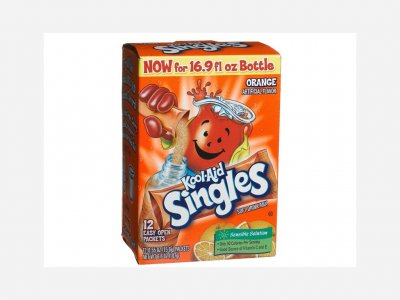 Cherry Soft Drink Mix Singles