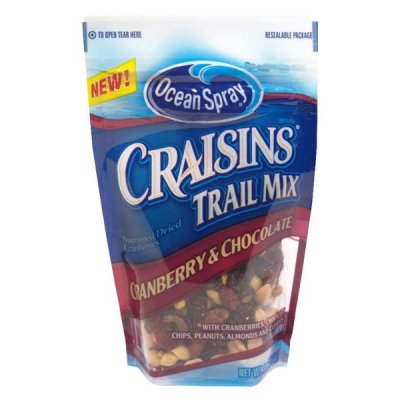 Craisins, Dried Cranberries, Cranberry & Chocolate Trail Mix