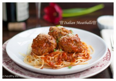 Italian Style With Parmesan Chicken Meatballs