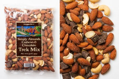 Simply Almonds, Cahews, & Chocolate Trek Mix