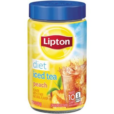 Iced Tea Mix, Diet, Decaffeinated, Lemon