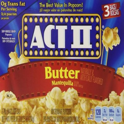 Popcorn, Microwave, Movie Theatre Butter