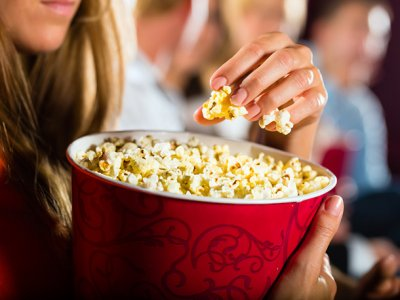 Popcorn,Butter Crazy Movie Theatre 3.3 Oz Bags