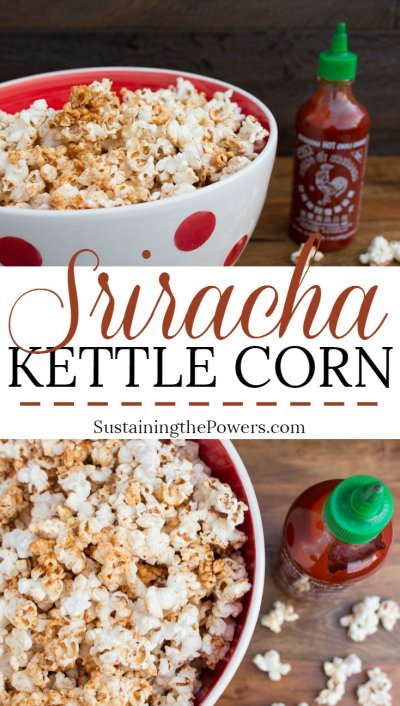 Kettle Corn Sweet & Salty, Popcorn