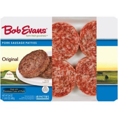 Sausage Patties,Mild 18 Ct