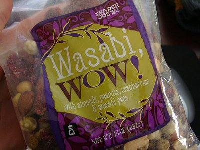 Wasabi Wow! with Almonds, Peanuts, Cranberries & Wasabi Peas