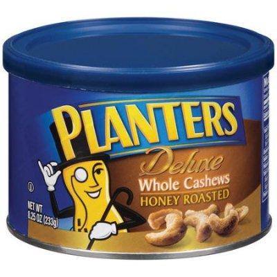 Whole Cashews, Honey Roasted, Deluxe
