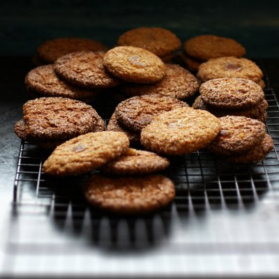 Ginger Snaps, Made With Real Ginger & Molasses