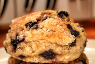 Blueberry Breakfast Biscuits
