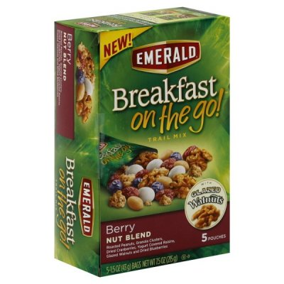On The Go Breakfast Trail Mix, Berry Nut Blend