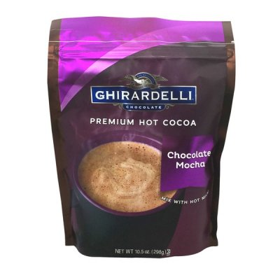 Premium Hot Cocoa, Chocolate Mocha mix With Hot Milk