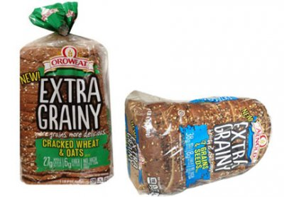 Extra Grainy Cracked Wheat And Oats Bread