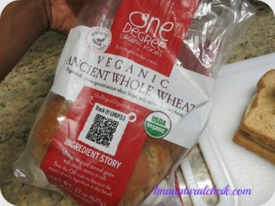 Veganic Ancient Whole Wheat Bread