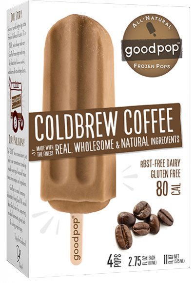 All Natural Frozen Pops, Coldbrew Coffee