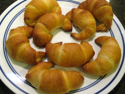 Reduced Fat Crescent Rolls