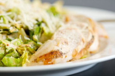 Chipotle Chicken Half Salad