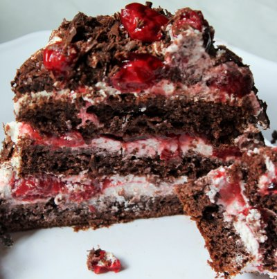 Yogurt, Black Forest Cake