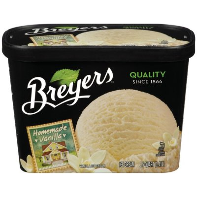 All Natural Ice Cream, Butter Almond