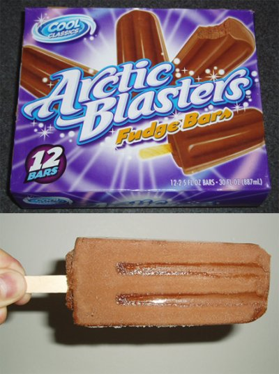 Arctic Blasters Fudge Bars