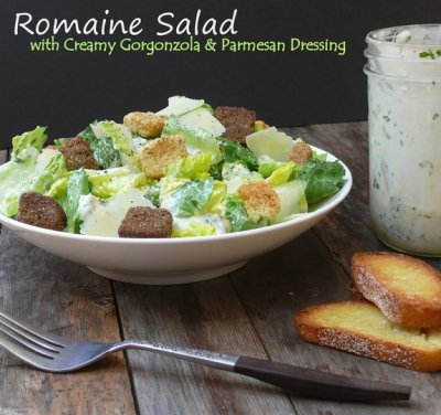House Salad, Side  with Creamy Gorgonzola Dressing