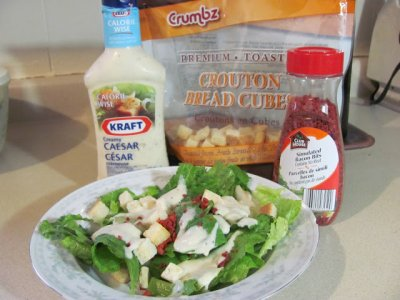 Side Caesar Salad-no muffin-ZT