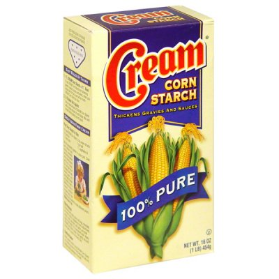 100% Pure Corn Starch