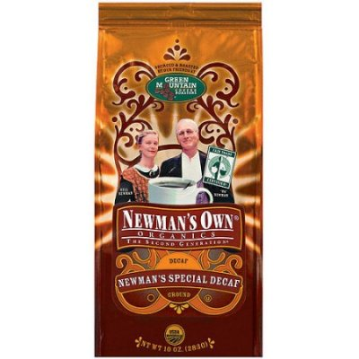 Coffee, Ground, Newman's Special Decaf