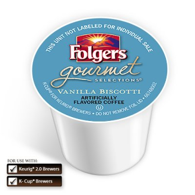 Gourmet Selections, Flavored Coffee, Vanilla Biscotti
