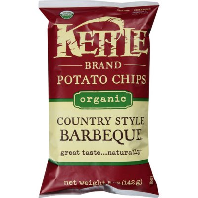 Potato Chips, Organic, Country Style Barbeque