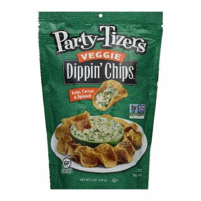Veggie Dippin' Chips, Kale, Carrot & Spinach
