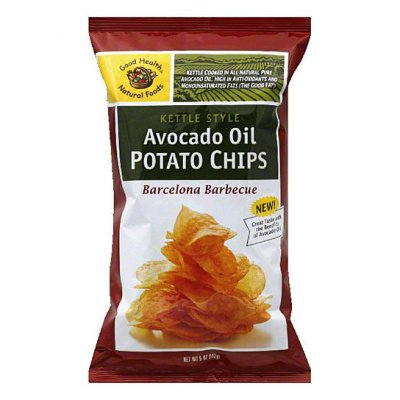 Kettle Cooked Potato Chips, Olive Oil
