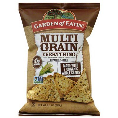 Multi-Grain Seedy Tortilla Chips