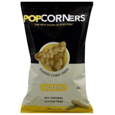 Popped Corn Chips, Butter