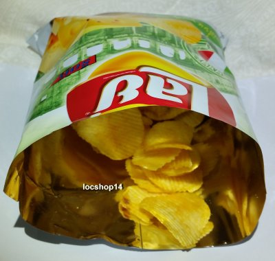 Potato chips, Cheese-flavor