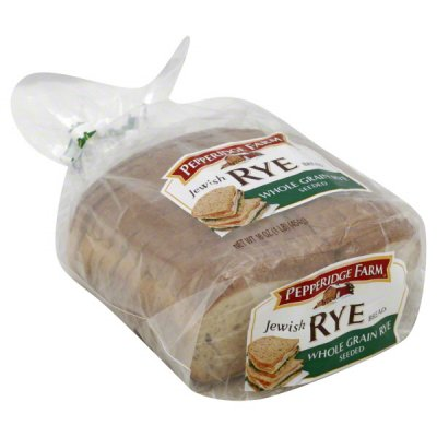 Bread, Whole Grain, Jewish Rye
