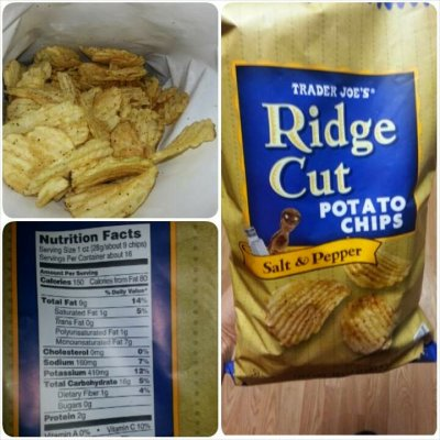 Ridge Cut Potato Chips