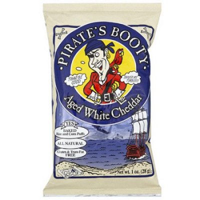 Aged White Cheddar Pirate's Booty