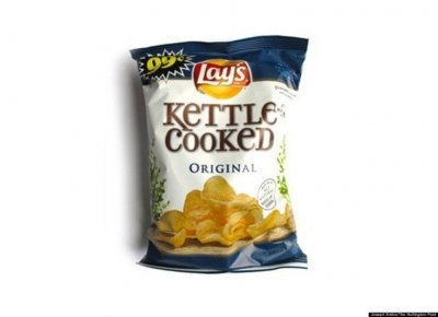 Kettle Cooked Potato Chips, Sea Salt