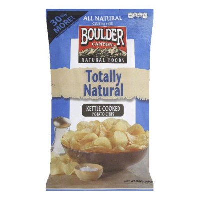 Potato Chips, Totally Natural, Kettle Cooked
