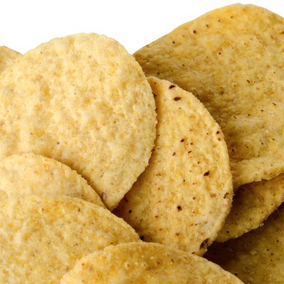 White Round Tortilla Chips