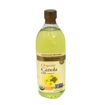 Organic Canola Oil, Expeller Pressed, Refined