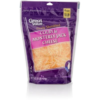 Finely Shredded Cheese, Colby & Monterey Jack Cheese