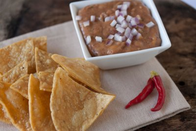 Tortilla Chips, Blue Corn (for Export)