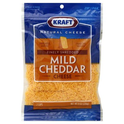 Cheddar Cheese, Mild, Finely Shredded
