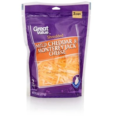 Cheese,Cheddar Mild Shredded