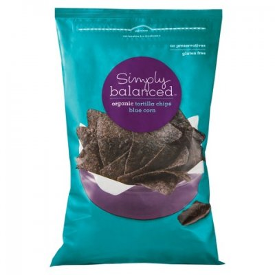 Blue Chips, Corn Tortilla Chips, Made With Organic Blue Corn