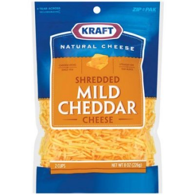 Cheese, Shredded Natural Sharp & Mild Cheddar