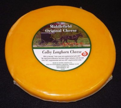 Organic Colby Jack Cheese