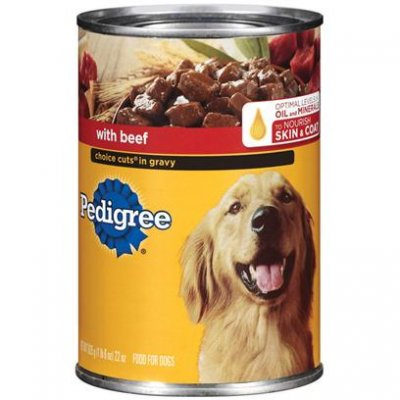 Food for Dogs, Choice Cuts In Sauce With Beef